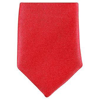 Knightsbridge dassen mager Polyester ex aequo - helder rood