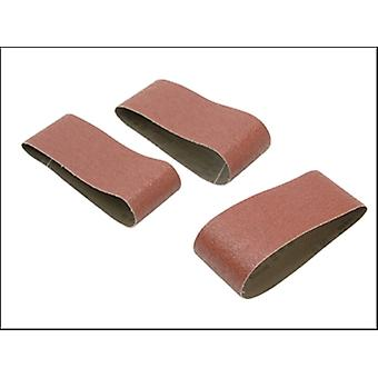 SANDING BELTS 75 X 533MM (3) 100G