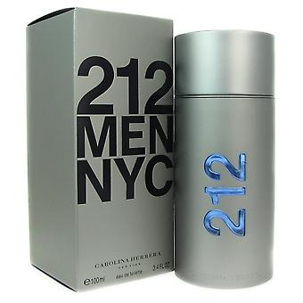 212 carolina herrera voor mannen 3.4 oz 100 ml eau de toilette spray