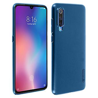 Frosted Shield Nillkin Set: Cover + screen protector for Xiaomi Mi 9 - Blue