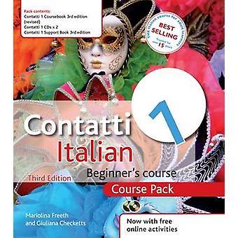 Contatti 1 Italian Aloittelijan kurssi paketti (3. lyhentämätön kierros