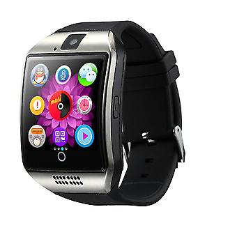 K18 Smartwatch-Android & iOS hopea & musta