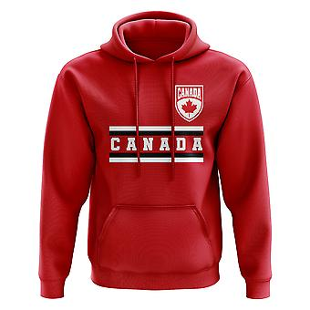 Kanada Core Football Country Hoody (Rot)
