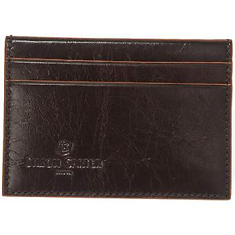 Simon Carter Cinnamon Edge Credit Card Holder - Brown