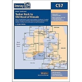 Imray Chart C57: Tuskar Rock to Old Head of Kinsale (C Series)