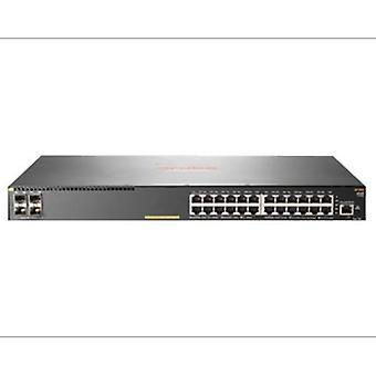 Aruba 2930F 24G PoE+ 4SFP+ Switch 24 Ports Managed Rack-Mountable