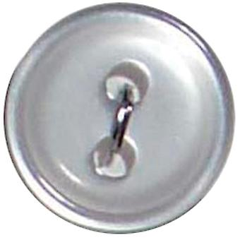 Slimline Buttons Series 1 White 2 Hole 7 16
