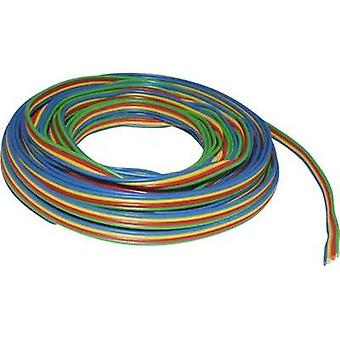 Strand 4 x 0.14 mm² Green, Red, Yellow, Blue BELI-BECO L418/5 5 m