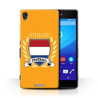 STUFF4 Case/Cover for Sony Xperia Z4v/E6508/Netherlands/Dutch/Football Emblem