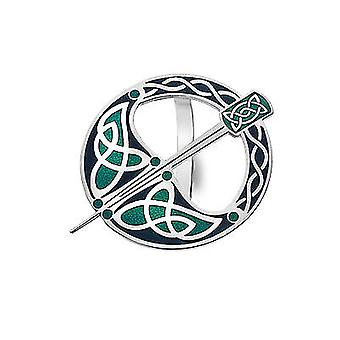 Celtic Tara Enamel tørklæde Ring - gave Boxed