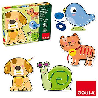 Goula Animals Link Game (Toys , Educative And Creative , Motricity)