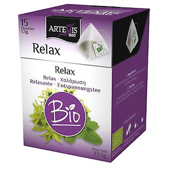 Herbes del Molí Relax Piramide Eco 15 X 2G Filters (Herboristerie , Infusions)
