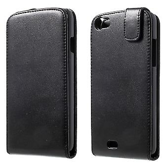 Type PU leather flip cover with magnetic Kiritkumar Lenny (black)