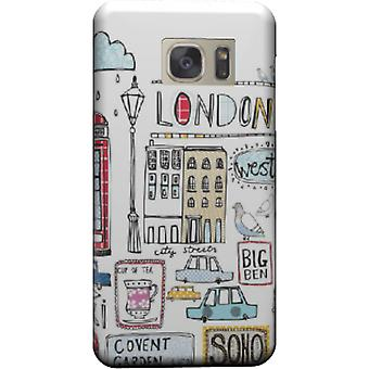 Kapstadt-London-Karikatur für Galaxy Note 5