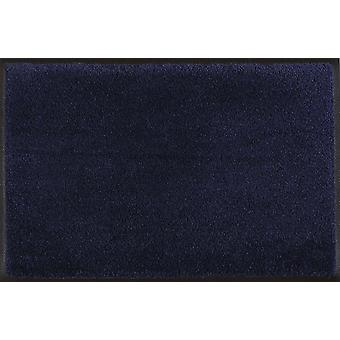 Wash & dry mat washable Navy 005087 60 x 90 cm