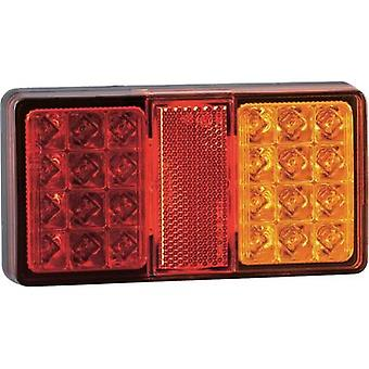 LEDs Trailer tail light left , right 12 V, 24 V SecoRüt Clear glass