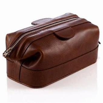 Daines and Hathaway Small Rusty Blaze Wash Bag