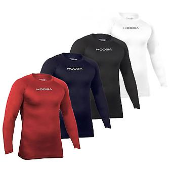 Kooga Elite prestanda Mens lång ärm Rugby Baselayer Base Layer skjorta