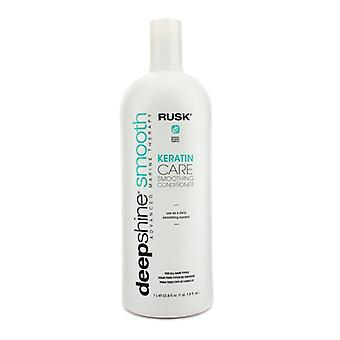 Rusk Deepshine Smooth keratine Care Smoothing Conditioner 1000ml / 33,8 oz