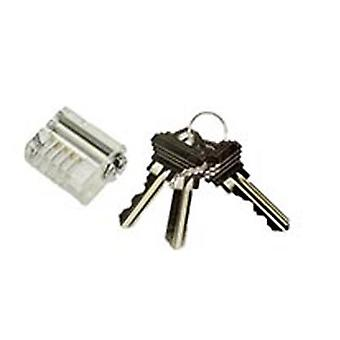 Lockpick See-through praktijk lock Spool Pin