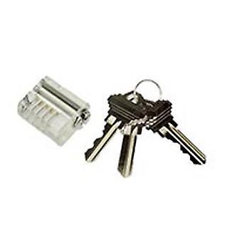 Lockpick gjennomsiktig praksis låse spolen Pin