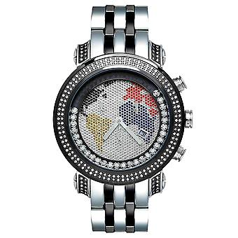 Joe Rodeo diamant mænds watch - TYLER sort 2 ctw