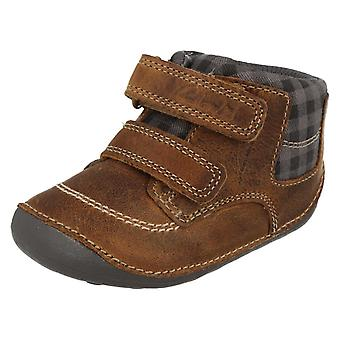 Infant Boys Clarks First Ankle Boots Tiny Jay