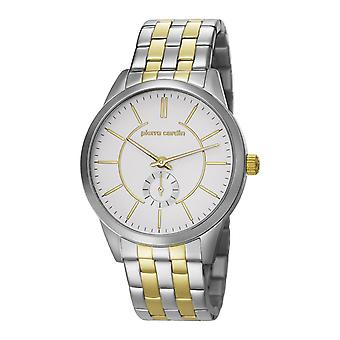 Pierre Cardin mens watch orologio PC106571F08 TROCA argento oro