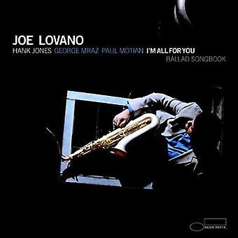 Joe Lovano - I'm All for You [CD] USA import