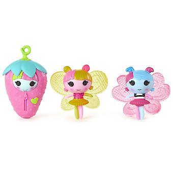 Mini Lala Oopsie Littles 3 Pack Fairy Tulip, Fairy Lilac & Fairy Fearn