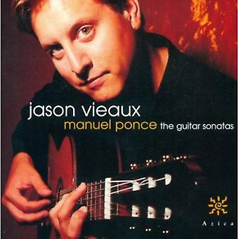 Jason Vieaux - Manuel Ponce: The Guitar sonater [CD] USA import