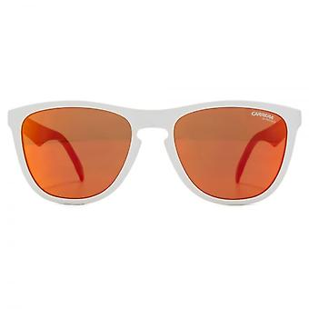 Carrera 5042/S Sunglasses In White Red Mirror