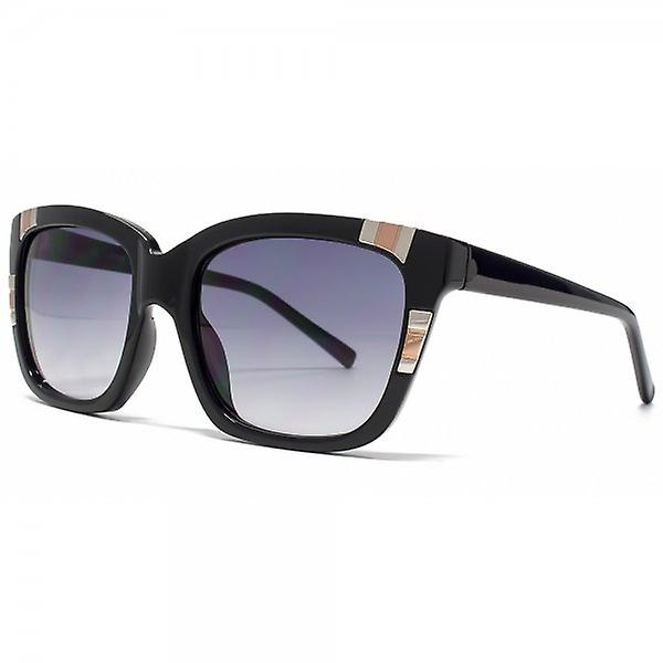 Guess Metal Detailed Square Sunglasses In Black - GU7270 BLK 35