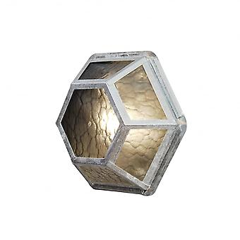Konstsmide Castor Galv Wall Light