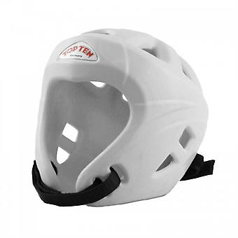 Top Ten Avantgarde Head Guard - White