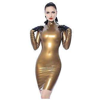 Westward Bound Elegance Latex Rubber Dress.