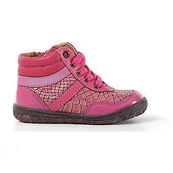 Geox Girls Tibet Boots Pink