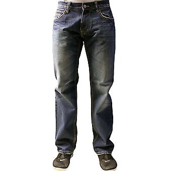 LRG Core Collection vrai Straight Jeans foncé Indigo Wash