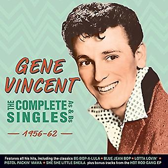 Gene Vincent - Vincent Gene-Complete Singles as & Bs [CD] USA import