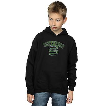 Harry Potter Boys Slytherin Sport Emblem Hoodie