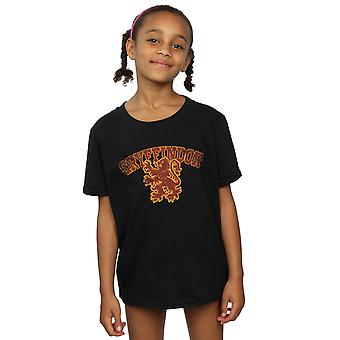 Harry Potter flickor Gryffindor Sport Emblem T-Shirt