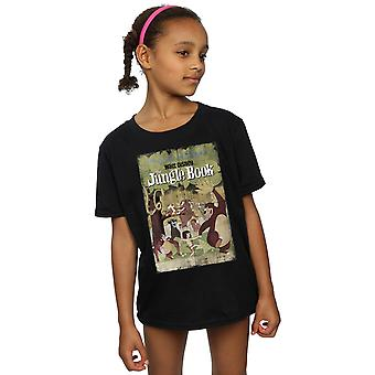Disney Girls The Jungle Book Retro Poster T-Shirt