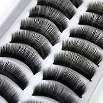 20 Pairs Black Long Handmade Voluminous False Eyelashes Eye lashes