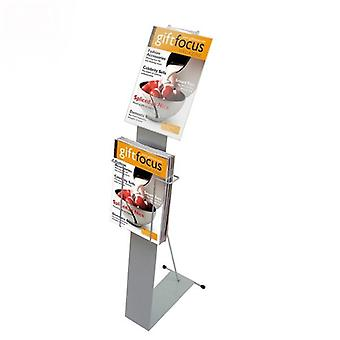 A4 Brochure staander met Display Pocket