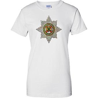 Licensed MOD -  British Army irish Guards Insignia - Ladies T Shirt