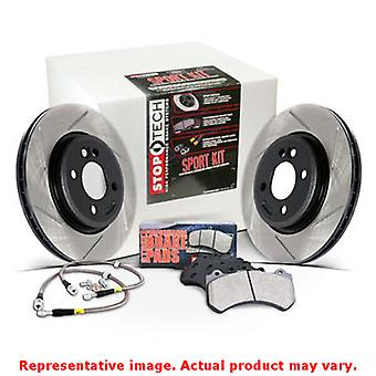 StopTech Sport Kits 978.40008F Front Fits:HONDA 2007 - 2011 CIVIC SI L4 2.0 Sed