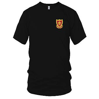 US Army - 117th Field Artillery Regiment Embroidered Patch - Kids T Shirt