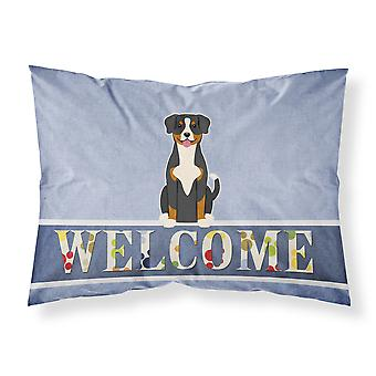 Entlebucher Welcome Fabric Standard Pillowcase
