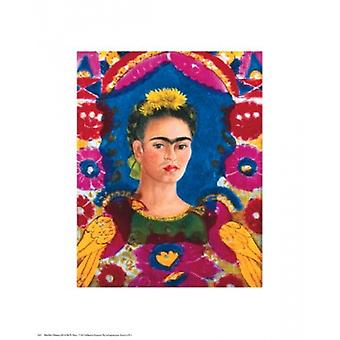 Frida in The Frame Poster Print (11 x 14)
