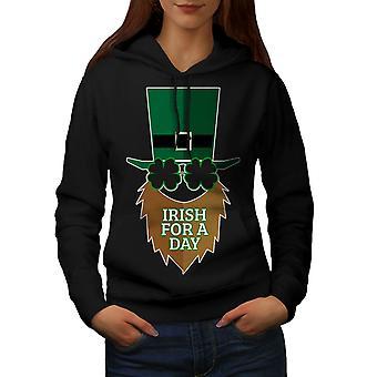 Irlandzki dla BlackHoodie kobiet dzień | Wellcoda